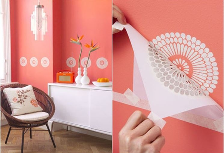Come decorare con lo stencil