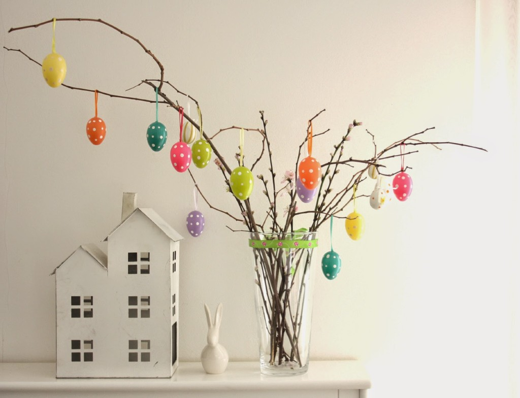 Come decorare la casa a Pasqua